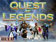 "Play Flash Game: ""Quest of Legends"" Free"
