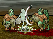 "Play Flash Game: ""Zombie Knight"" Free"